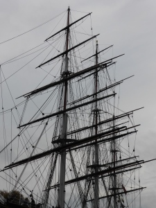 The Cutty Sark at Greenwich - nought degrees of longitude