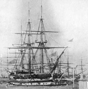 The former battleship Nelson used as a boys' reformatory by the Victorian government unprepared for the number of 'wayward' boys.